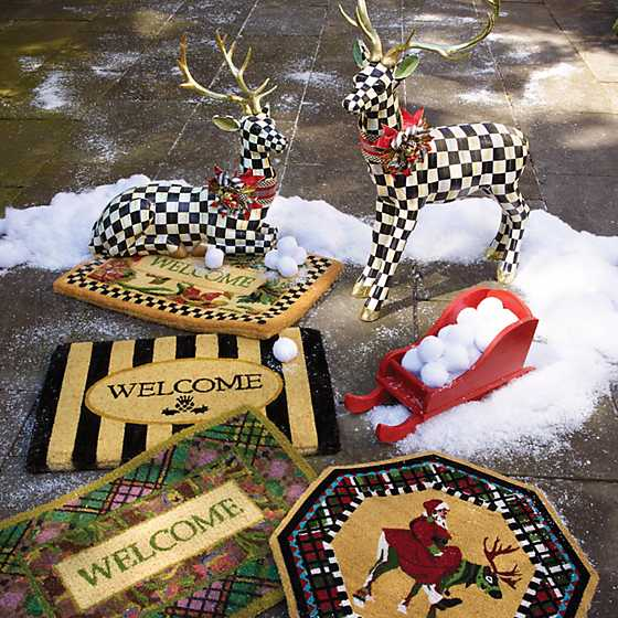 Awning Stripe Welcome Mat image seven