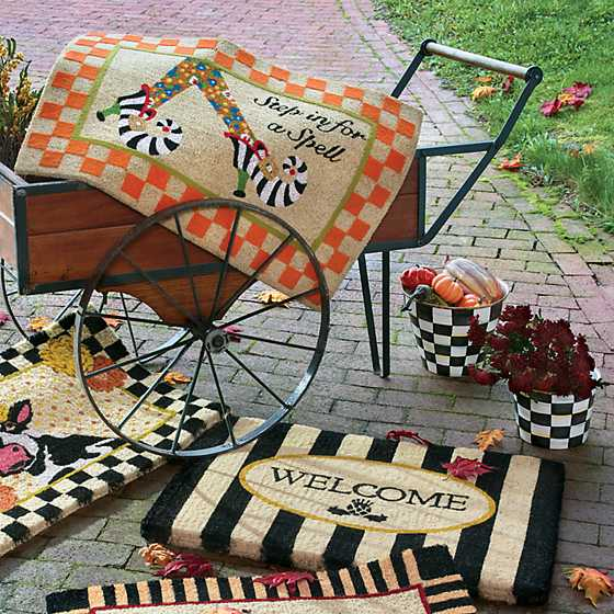 Awning Stripe Welcome Mat image nine
