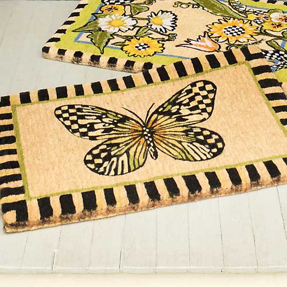 Butterfly Entrance Mat image two