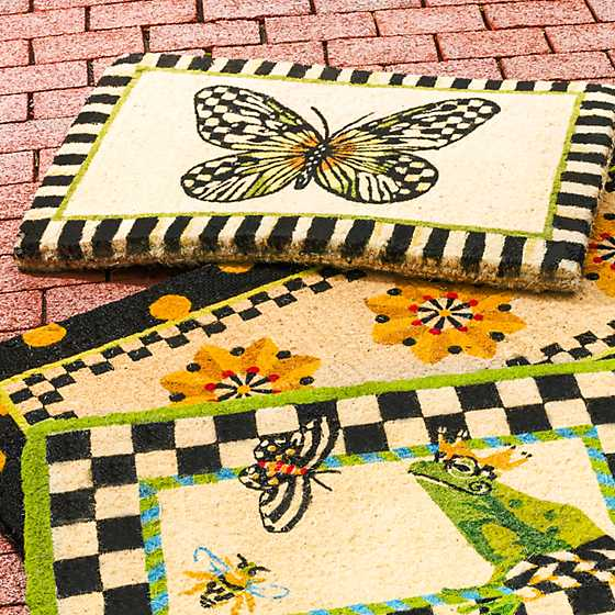 Butterfly Entrance Mat image three