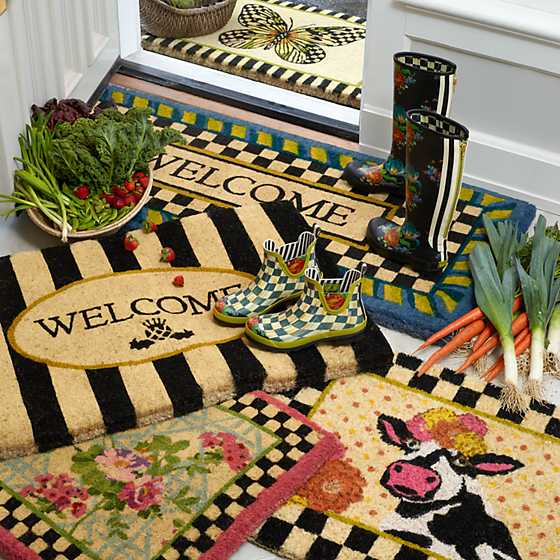 Butterfly Entrance Mat image five