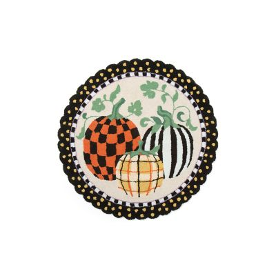 Pumpkin Patch Rug - 3' Round