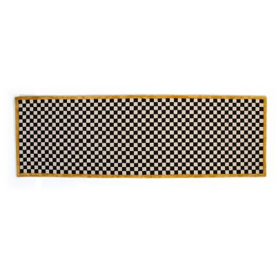 "Image for Check It Out Rug - 2'6""x 8' Runner - Gold"