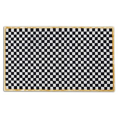 Image for Check It Out Rug - 3' x 5' - Gold