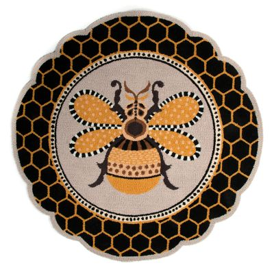 Image for Queen Bee Rug - 4' Round