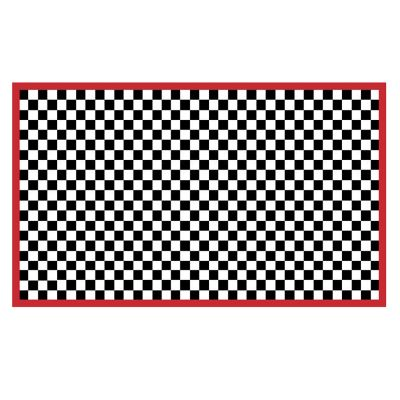 Image for Check It Out Rug - 3' x 5' - Red