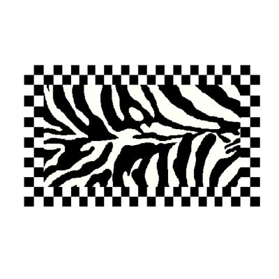 "Image for Zebra Rug - 2'3"" x 3'9'"