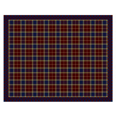 "Image for Burgundy Tartan Rug - 7'11"" x 10'"