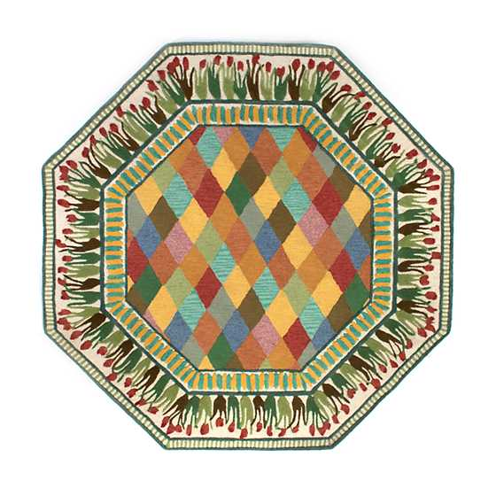 Poplar Ridge Rug - 6' Octagon image one