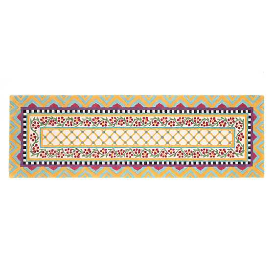 "Hitchcock Field Rug - 2'6"" x 8' Runner image two"
