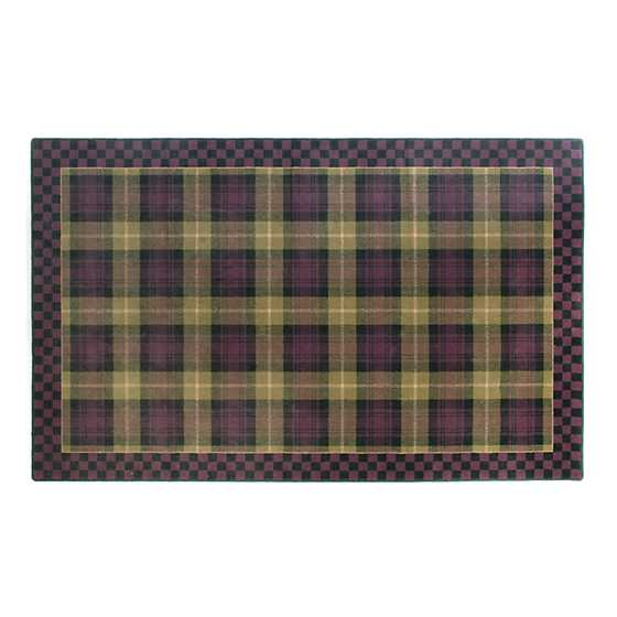 "Moonlight Garden Tartan Rug - 5'1"" x 8'2"" image one"