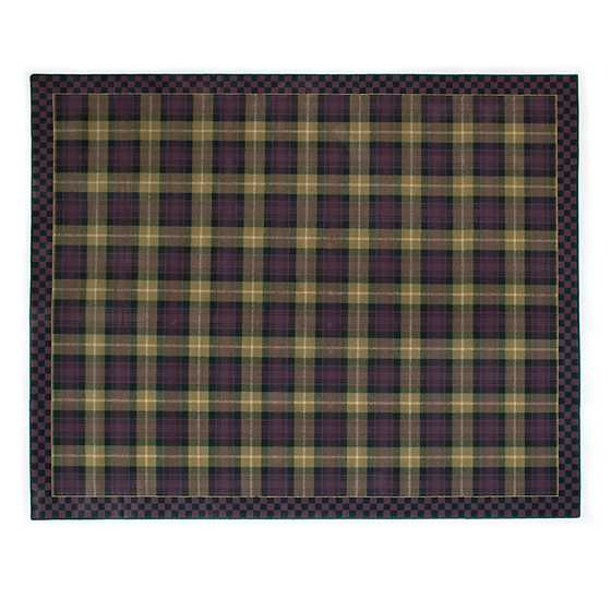 "Moonlight Garden Tartan Rug - 9' x 12'3"" image two"