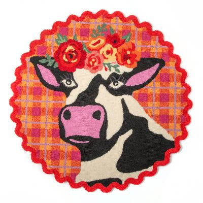 Image for Frida Cowlo Rug - 3' Round