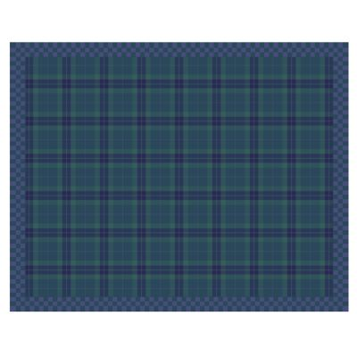 "Image for Peacock Tartan Rug - 7'11"" x 10'"