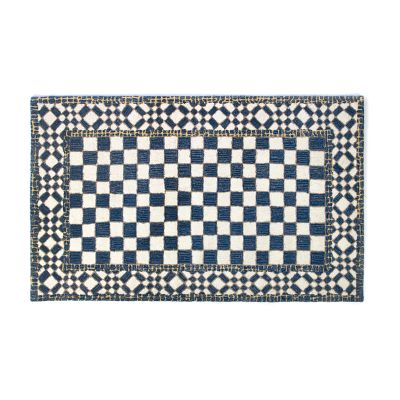 Royal Check Rug - 3' x 5'