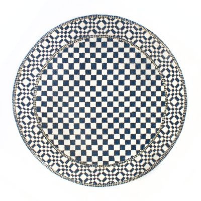 Royal Check Rug - 6' Round