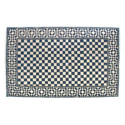 Royal Check Rug - 5' x 8'