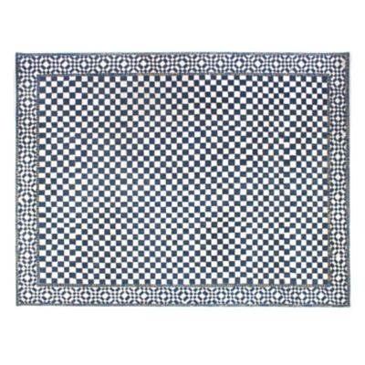 Royal Check Rug - 9' x 12'