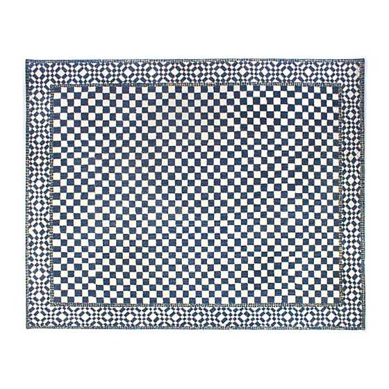 Royal Check Rug - 8' x 10' image two