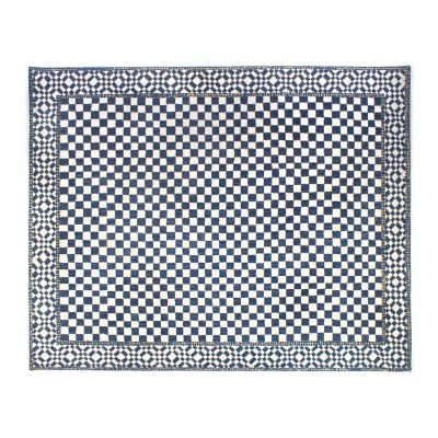 Image for Royal Check Rug - 8' x 10'