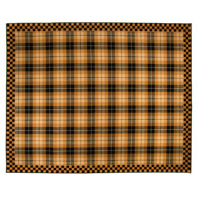 "Image for Golden Tartan Rug - 7'11"" x 10'"