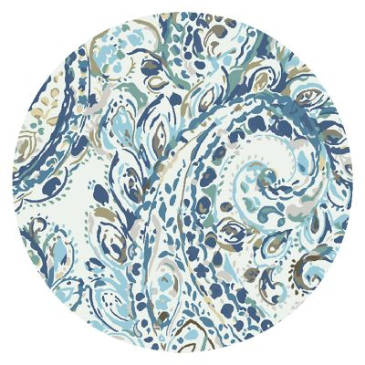 Image for Royal Paisley Rug - 6' Round