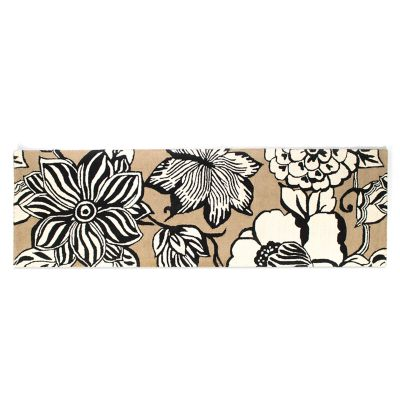 "Avant-Garden Rug - 2'6"" x 8' Runner - Wheat"