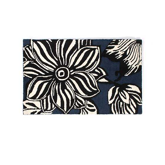 "Avant-Garden Rug - 2'3"" x 3'9"" - Blue image two"