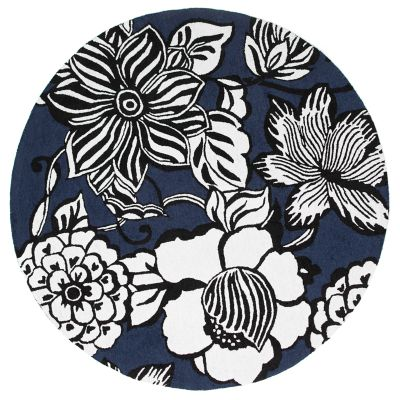 Image for Avant-Garden Rug - 6' Round - Blue