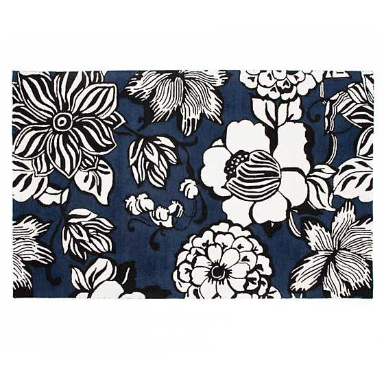 Avant-Garden Rug - 5' x 8' - Blue image two