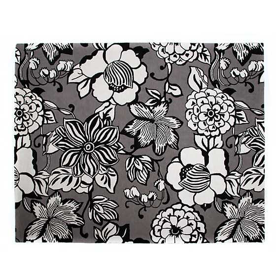 Avant-Garden Rug - 8' x 10' - Grey image two