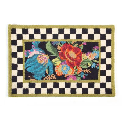 Mackenzie Childs Flower Market Floor Mat 3 X 5