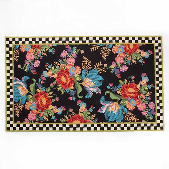 Flower Market Rug - 5' x 8' image one