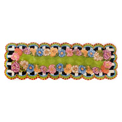 "Cutting Garden Rug - 2'8"" x 8' Runner"