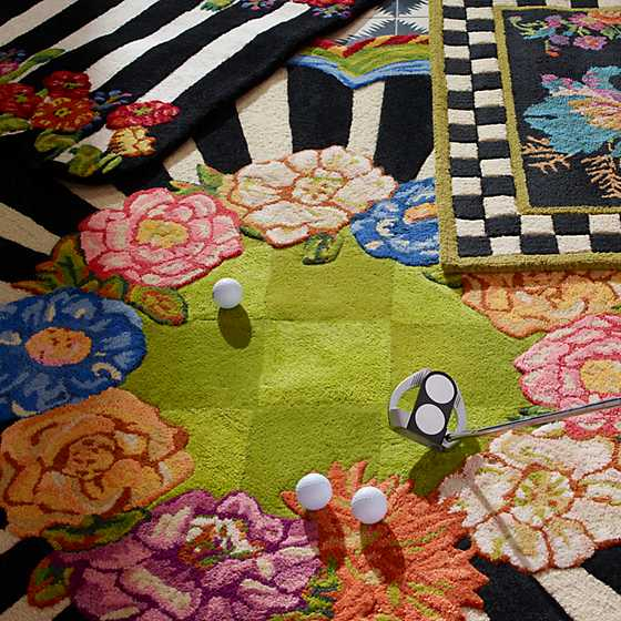 Cutting Garden Rug - 6' Round image two