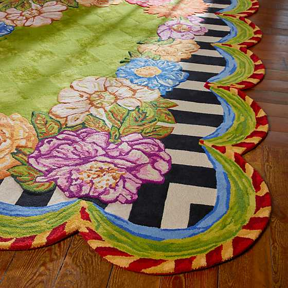 "Cutting Garden Rug - 6'5"" x 8' image two"