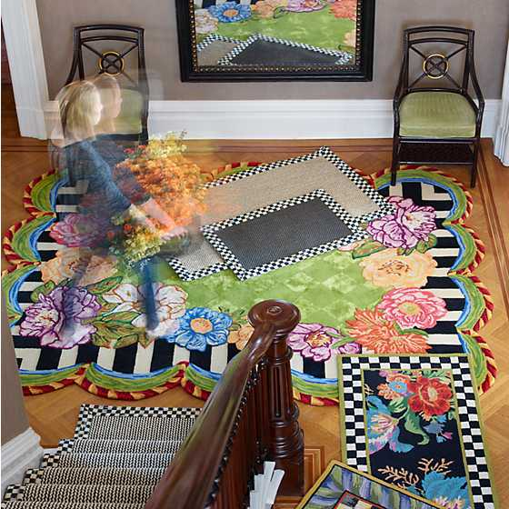 "Cutting Garden Rug - 6'5"" x 8' image four"