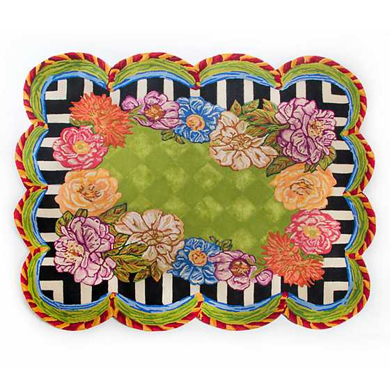 "Cutting Garden Rug - 6'5"" x 8' image one"