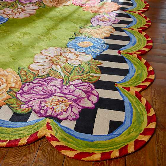 Cutting Garden Rug - 8' x 10' image two