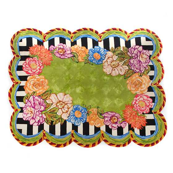 Cutting Garden Rug - 8' x 10' image one