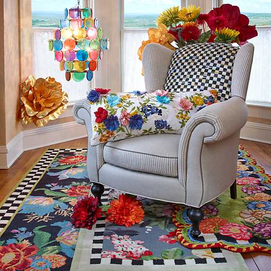 "Tudor Rose Rug - 2'8"" x 8' Runner image two"