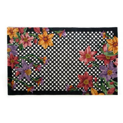 Courtly Floret Rug - 3' x 5'
