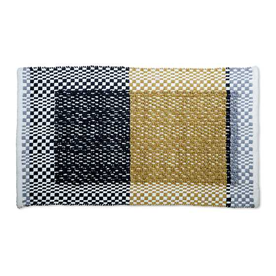 Color Block Rug - Gold - 2' x 3' image two