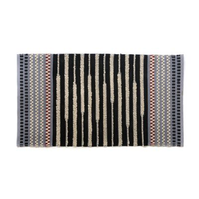 Checker Dot Rug - Grey - 3' x 5'