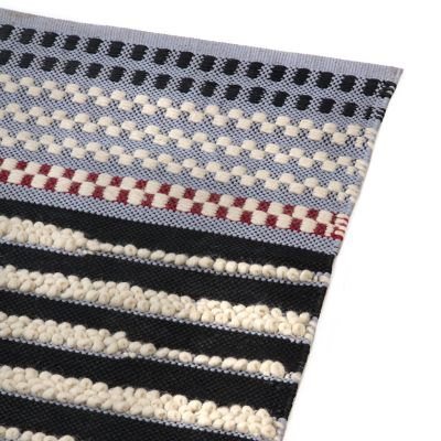 Checker Dot Rug - Grey - 5' x 8'