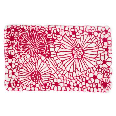 "Raspberries & Cream Floral Rug - 2'3"" x 3'9"""
