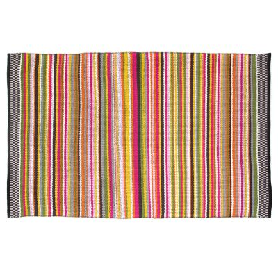 Think Pink Stripe Rug - 5' x 8'