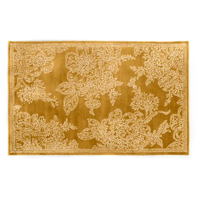 Wild Rose Rug - 5' x 8' - Wheat