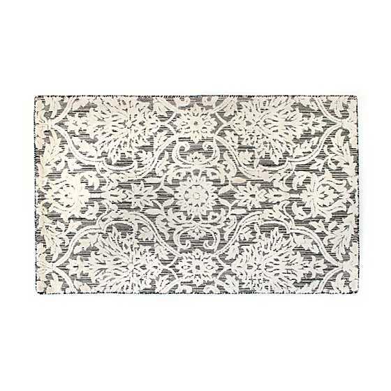 ivory scroll rug 3 x 5