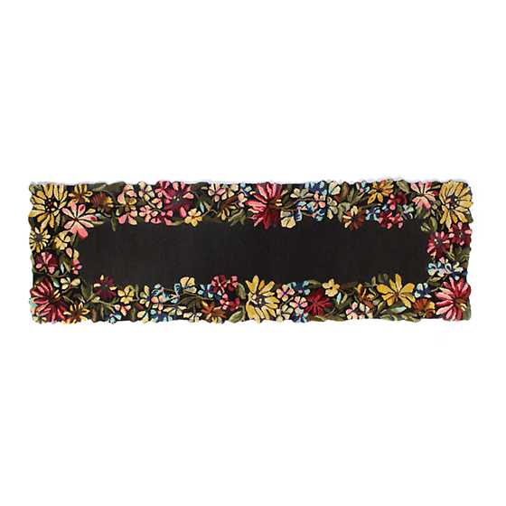 "Butterfly Garden Rug - 2'6"" x 8' Runner image two"